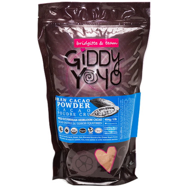 Giddy Yoyo Organic Raw Cacao Powder