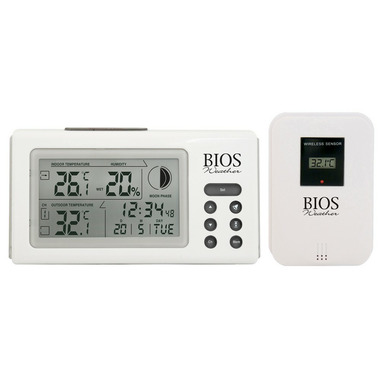 Bios Indoor/Outdoor Thermometer & Hygrometer