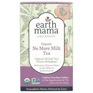 Earth Mama Organics Organic No More Milk Tea