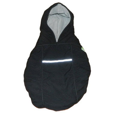 Baby Parka Carrier Cover Black