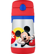 Thermos Stainless Steel Straw Bottle Mickey Mouse