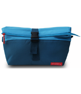 Goodbyn Rolltop Insulated Lunch Bag Blue
