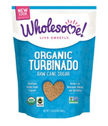 Wholesome Sweeteners Organic Fair-Trade Turbinado Sugar