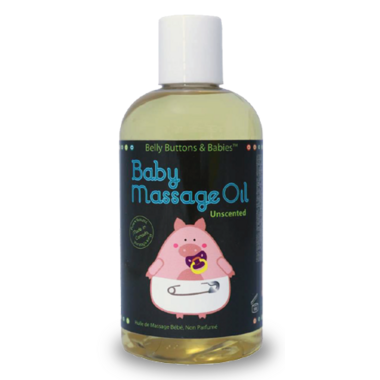 Belly Buttons & Babies Unscented Baby Massage Oil