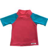 Bummis UV-Tee Pink & Seaspray