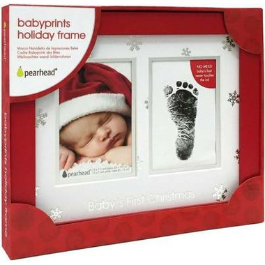 Pearhead Babyprints Christmas Frame