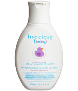 Live Clean Baby Soothing Relief Creamy Head-To-Toe Wash