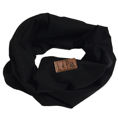 L&P Apparel Infinity Scarf Black