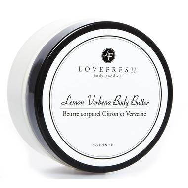 Lovefresh Lemon Verbena Body Butter