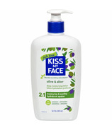 Kiss My Face Olive & Aloe 2-n-1 Deep Moisturizing Body Lotion