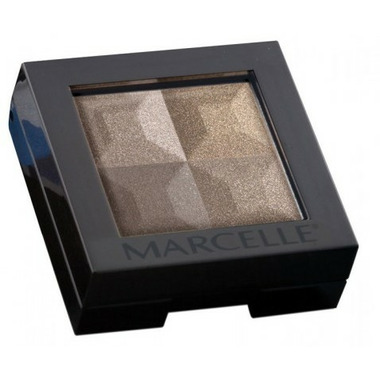 Marcelle Eye Shadow Quad in Coffee Beans