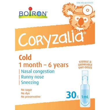 Boiron Coryzalia Cold Children 30D