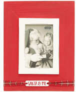 Mud Pie Santa and Me Picture Frame