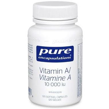 Pure Encapsulations Vitamin A 10,000 iu