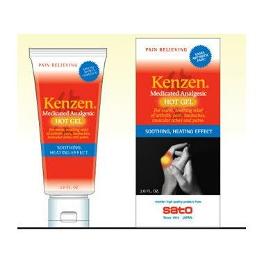Kenzen Medicated Analgesic Hot Gel