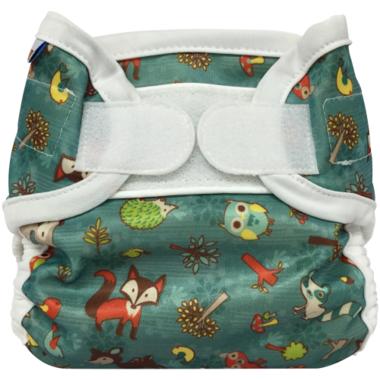 Bummis Super Whisper Wrap Diaper Cover Forest Animals