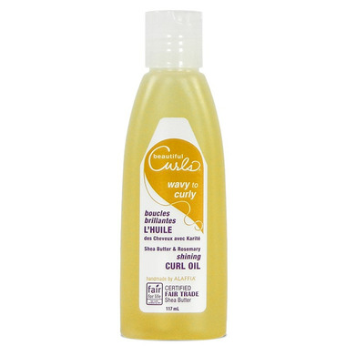 Alaffia Beautiful Curls Shea Butter & Rosemary Shining Curl Oil