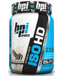 BPI Sports ISO HD Protein Cookies & Cream