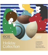 eos Limited Edition Holiday 3 Lip Balm Pack