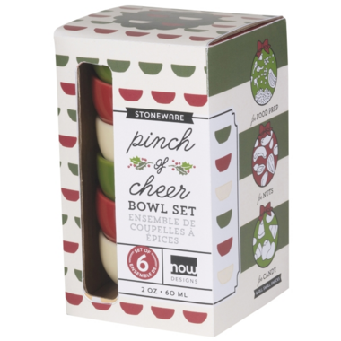 Now Designs Holiday Pinch Bowls