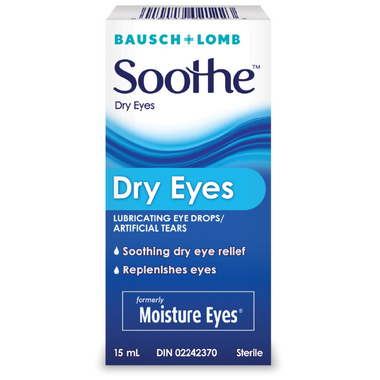 Bausch & Lomb Moisture Eyes Lubricant Eye Drops/Artificial Tears