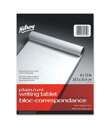 Hilroy Social Stationery 8x10 Writing Tablets