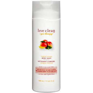 Live Clean Mango Body Wash