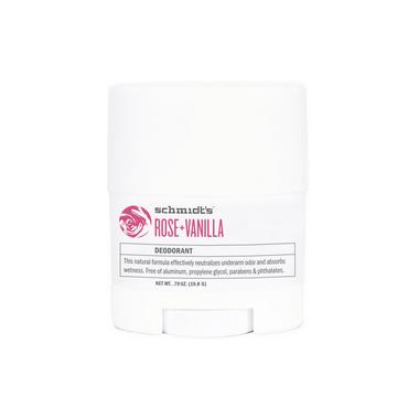 Schmidt\'s Deodorant Rose & Vanilla Deodorant Travel Size