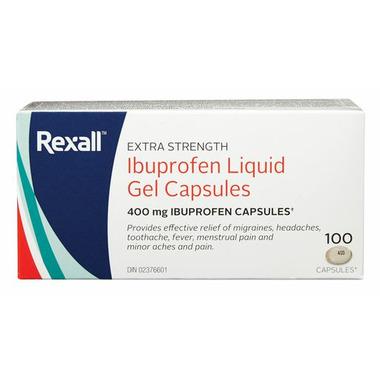 Rexall Extra Strength Ibuprofen Liquid Gel
