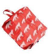Baggu Large 3D Zip Red Fox