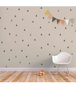 Trendy Peas Wall Decals Little Peaks Grey