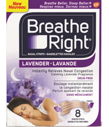 Breathe Right Nasal Strips Lavender