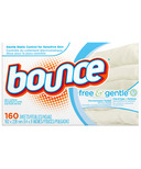 Bounce Free & Gentle Dryer Sheets