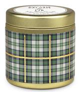 Paddywax Tartan Gold Tin Balsam & Fir Candle