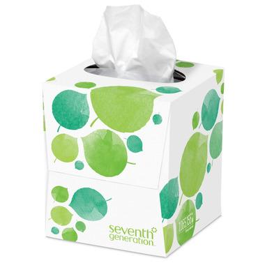 Seventh Generation Facial Tissues Cube
