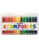 International Arrivals Stampables Scented Markers