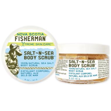 Nova Scotia Fisherman Salt-N- Sea Body Scrub
