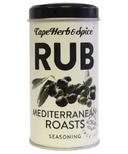 Cape Herb & Spice Rub Shaker Tin Mediterranean Seasoning