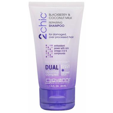 Giovanni 2Chic Blackberry & Coconut Milk Repairing Shampoo Travel Size