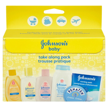 Johnson\'s Baby Take Along Pack