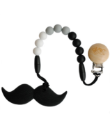 Glitter & Spice Moustache Teether