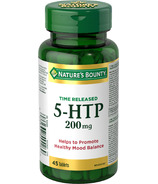 Nature's Bounty Time Release Extra Strength 5-HTP 200mg