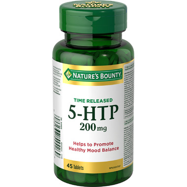 Nature\'s Bounty Time Release Extra Strength 5-HTP 200mg