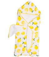Little Unicorn Cotton Hooded Towel & Wash Cloth Set Lemon