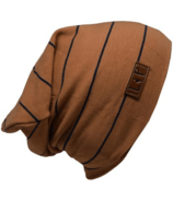 L&P Apparel Boston Slouchy Beanie Caramel & Navy