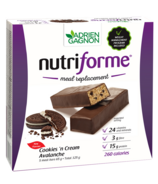 Adrien Gagnon Nutriforme Meal Replacement Bars Cookies N'Cream Avalanche
