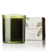 Thymes Frasier Fir Poured Green Glass Candle