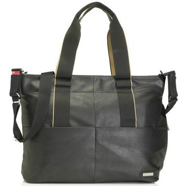 Storksak Black Eden Diaper Bag