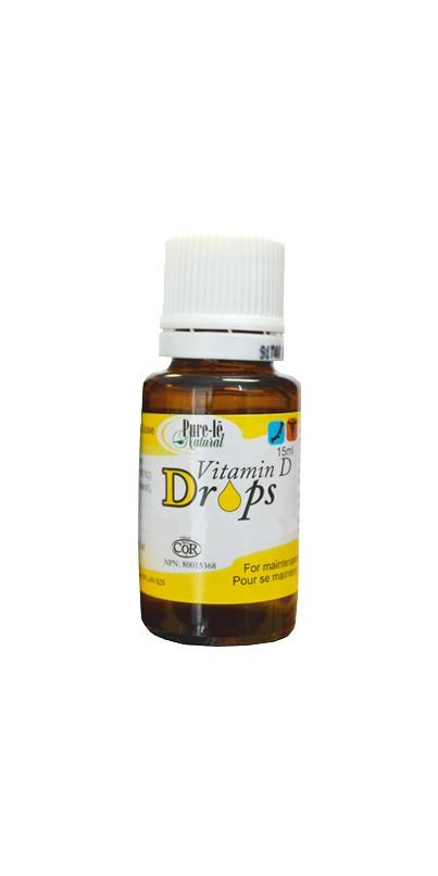Pure vitamin d drops