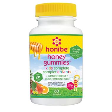 Honibe Kids Honey Gummies Complete Multivitamin with Immune Boost